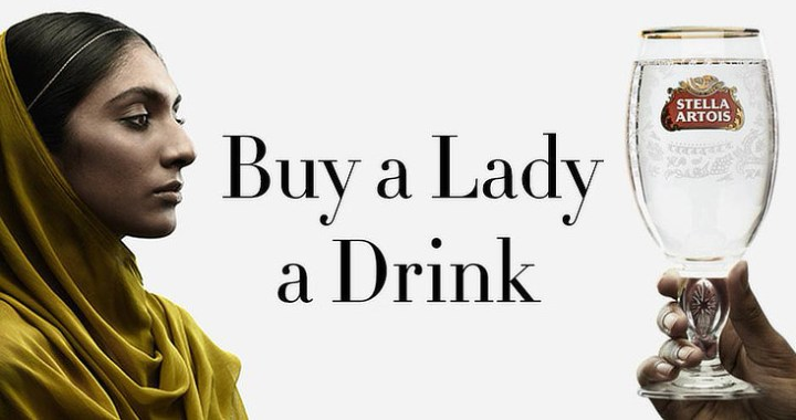 Buy a lady a drink - Stella Artois
