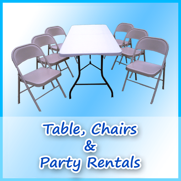 party rentals tables and chairs special for disabled a bounce above san diego house jumpers page