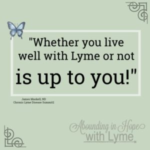 Living well with Lyme