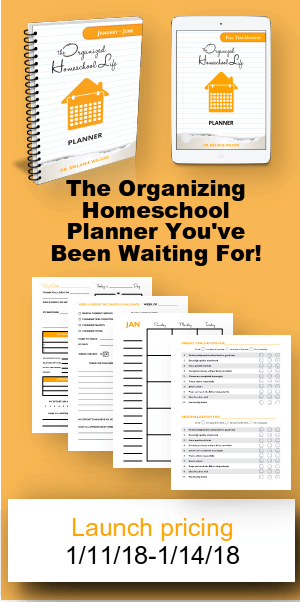 The Organizing Homeschool Planner Launch Sale