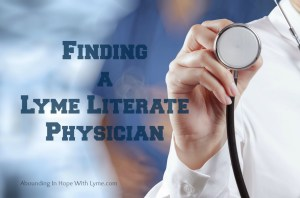Find a Lyme Literate Doctor