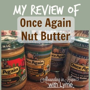 My Review of Once Again Nut Butter