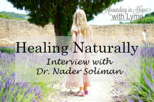 Healing Naturally – Interview with Dr. Nader Soliman