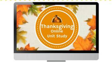 Free Thanksgiving Online Unit Study