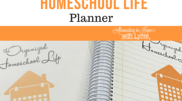 How I'm Using the Organized Homeschool Life Planner