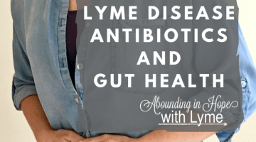 Lyme Disease, Antibiotics, and My Miserable Gut