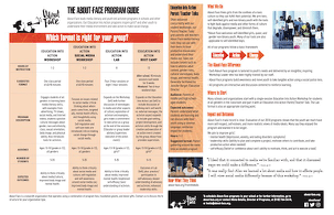 thumbnail image of program guide 2 pages