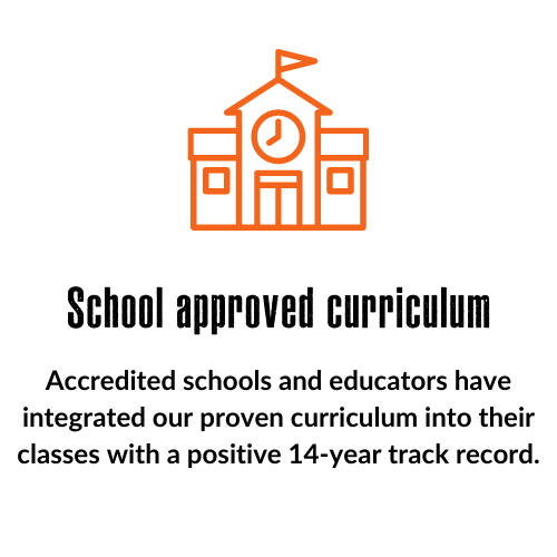 School-approved curriculum