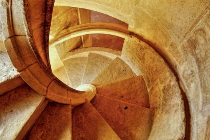 Staircase clockwise