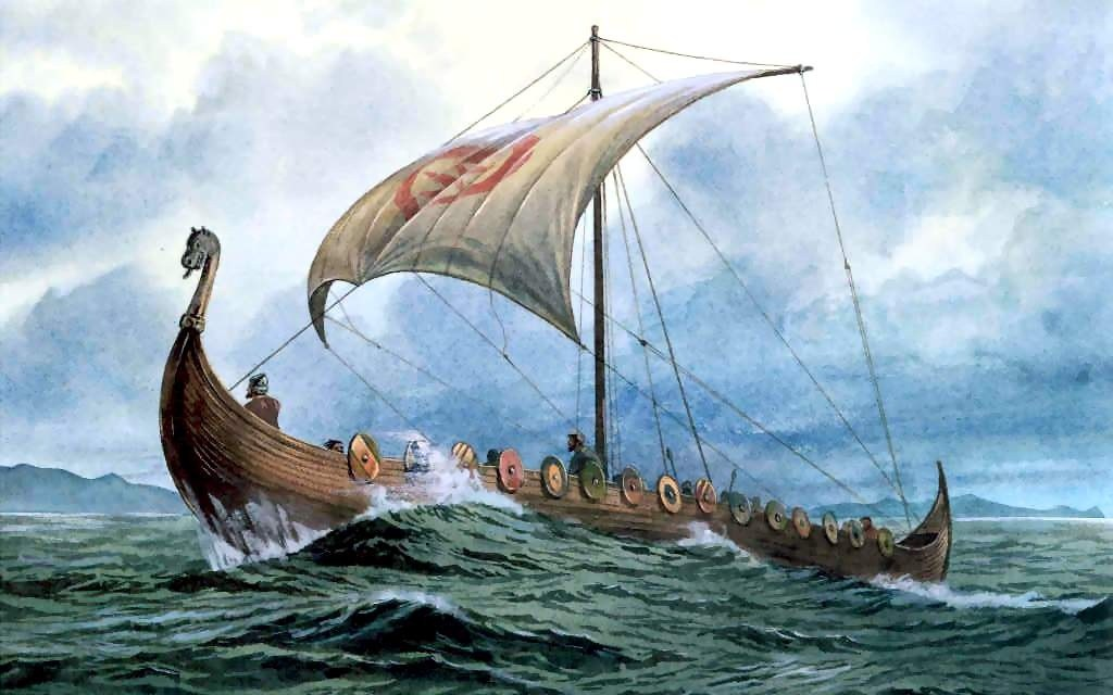 The Evolutionary Viking Ships and Their Sailing Methods