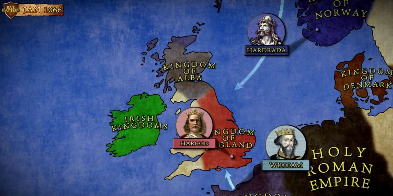 The First Battle For England's Throne – The Battle of Stamford Bridge 1066 AD