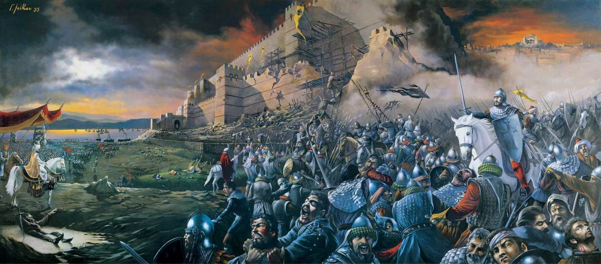 The Fall of the Eastern Roman Empire and the City of Constantinople 29 May 1453