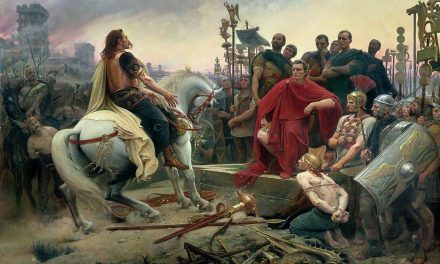 The Gallic Chieftain Vercingetorix and His Famous Revolt Against Caesar