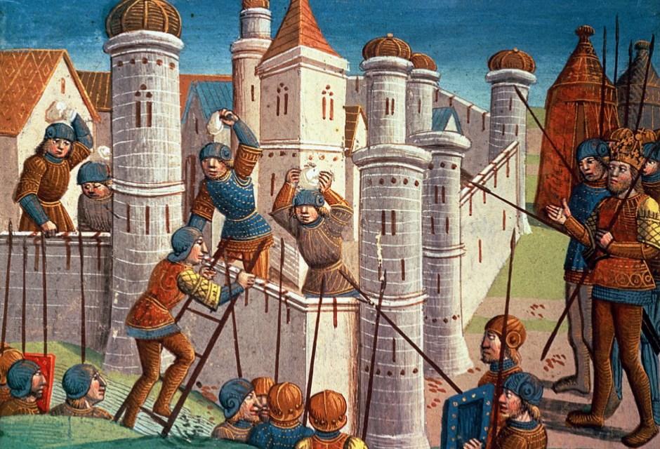 10 Medieval Siege Weapons