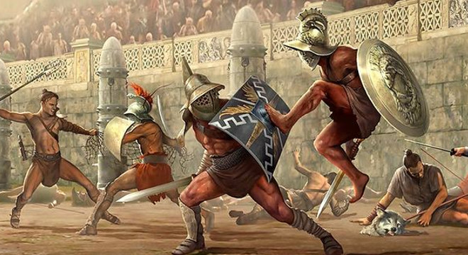 History of the Gladiators and The Blood Behind Their Past