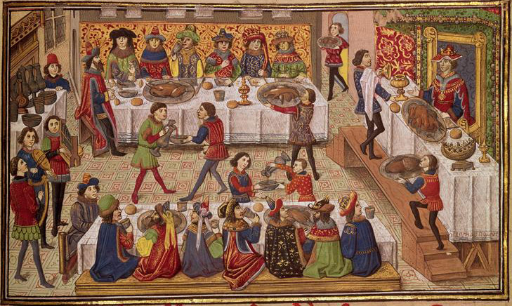 History of the Medieval Cuisine