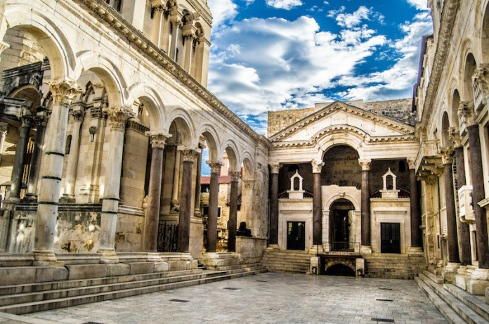 Diocletians-palace-in-Split