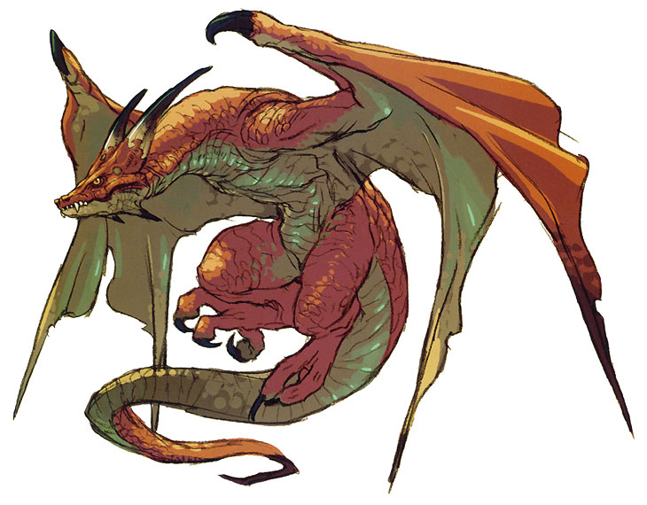 wyvern mythical creatures