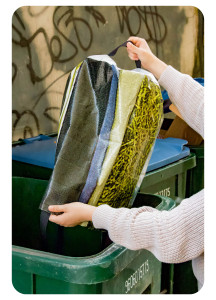 Best recycling bag bottom handle