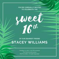 40+ Sweet 16 Ideas - Canva