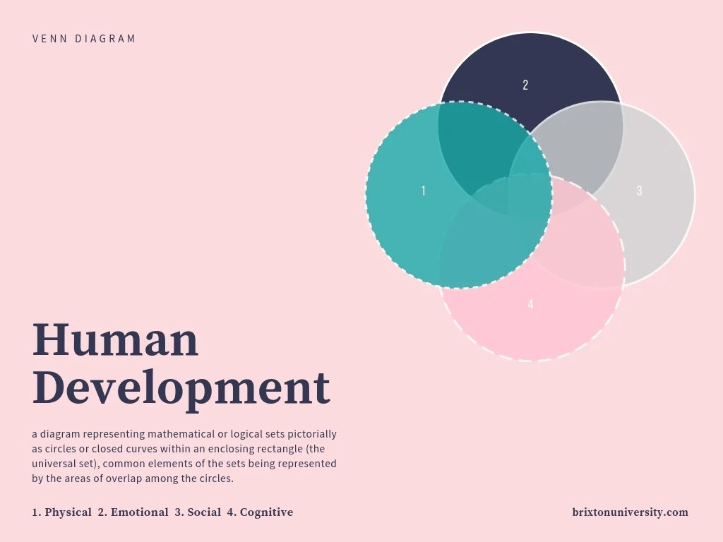 hight resolution of human development venn diagram
