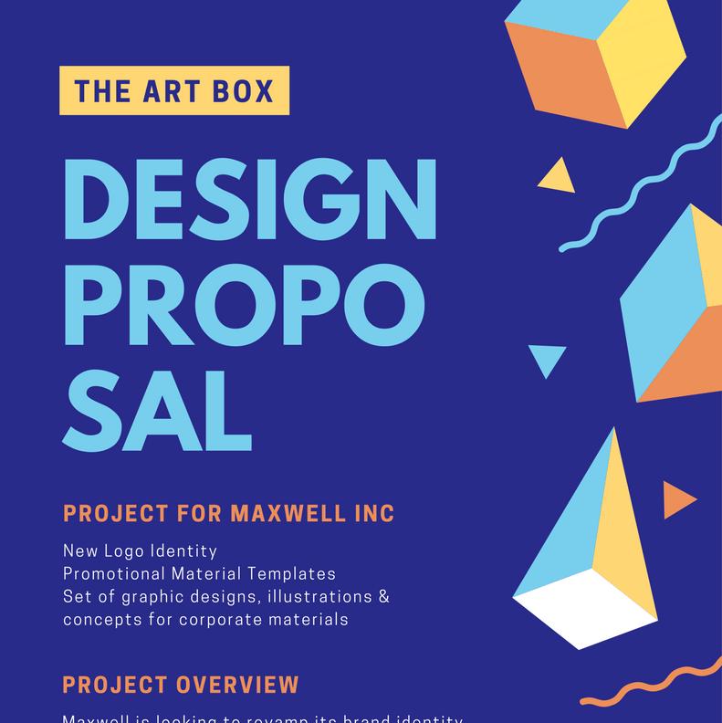 Free Online Proposal Maker Design a Custom Proposal  Canva