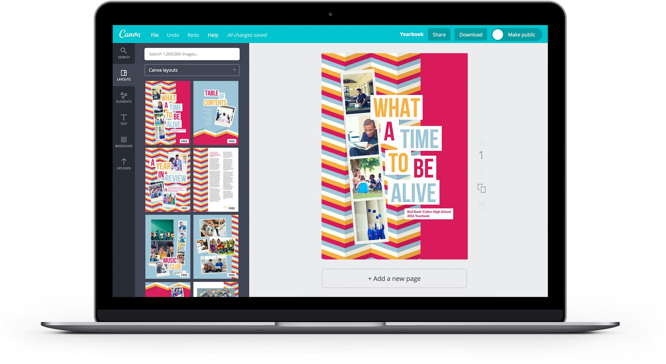 free online yearbook maker