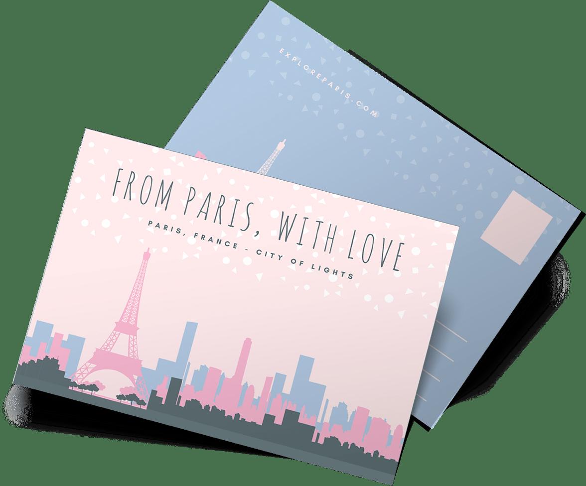 design and print postcards