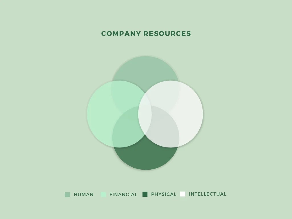 hight resolution of company resources venn diagram