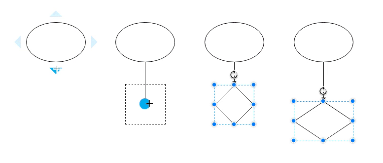 4 Ways to Connect Shapes