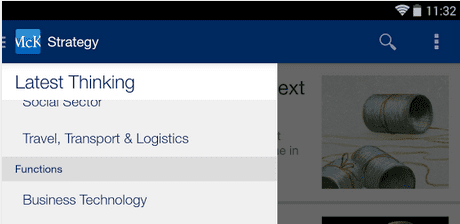 McKinsey launches its Insights App - Eloquens