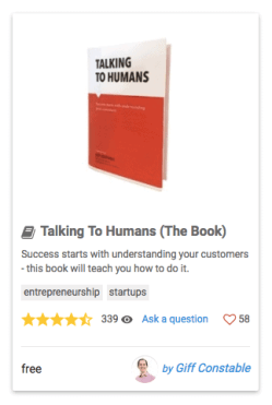 Talking To Humans