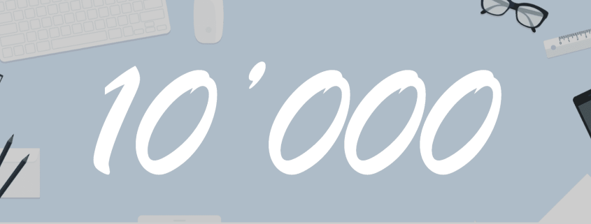 10'000 User Mark Reached