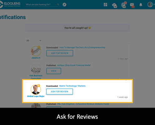 Ask for Reviews - Smart Notifications