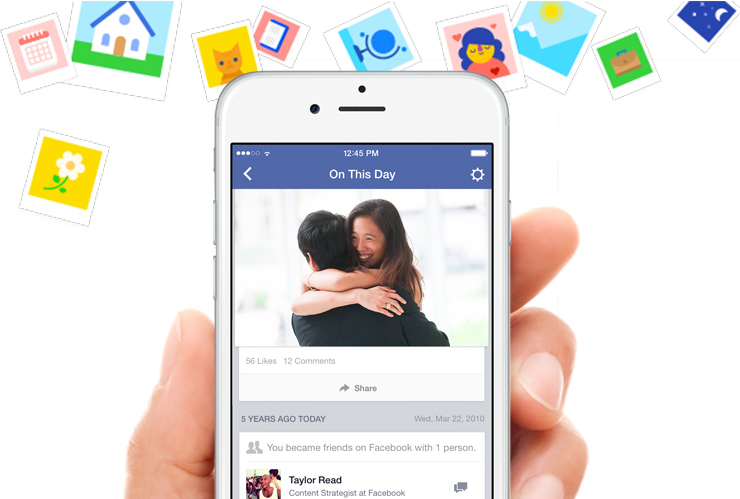 Introducing On This Day: A New Way to Look Back at Photos and Memories on  Facebook - About Facebook