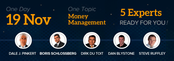 One day one topic - Money Management