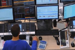 Bloomberg trader terminal