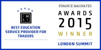 Finance Magnates Awards Badge 2015