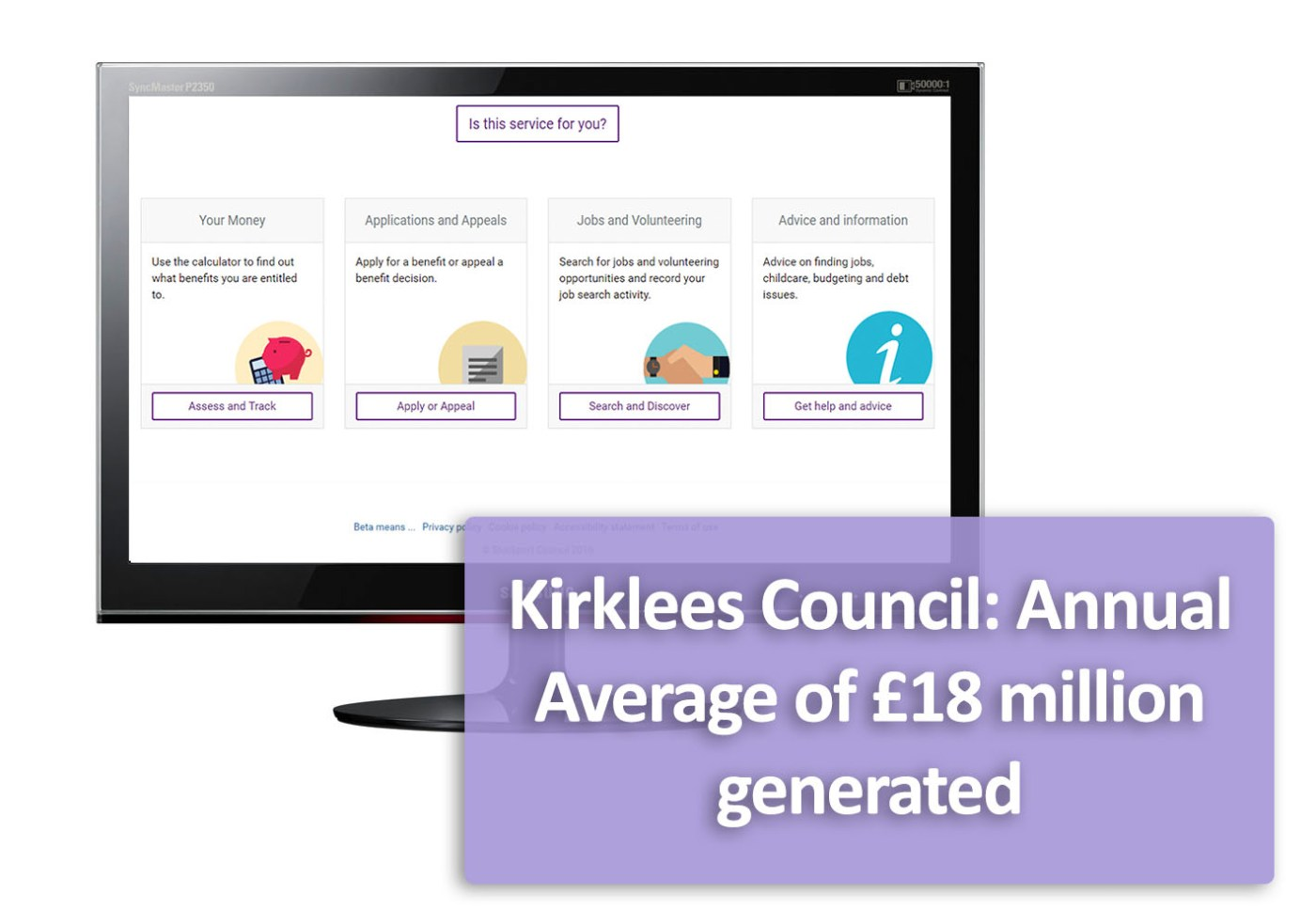 £18 million generated for Kirklees Council