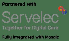 Partnered with Servelec Mosaic 3