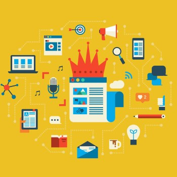 Content is King illustration