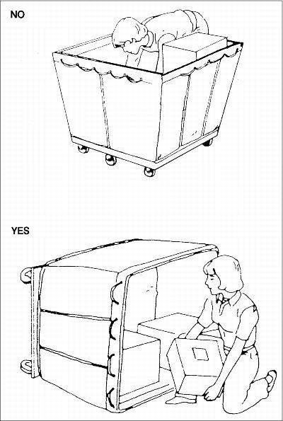 23 Procedures for Unloading Hampers