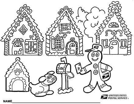 2013 Holiday holiday coloring page