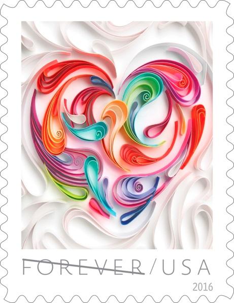 2016 love stamp showcases