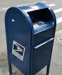 Find A Usps Drop Box : Postal, Service, Close, Collection, Boxes, Along, Marathon, Route