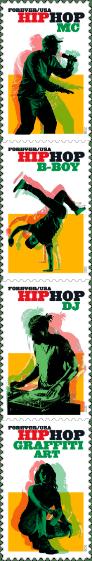 Hip Hop stamps