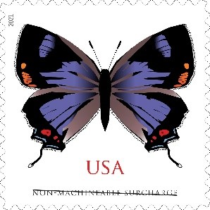 Colorado Hairstreak stamp