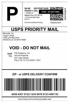 Usps Void Label : label, Domestic