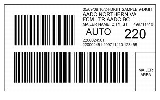 DMM Revision: New Intelligent Mail Barcoded Tray Label and