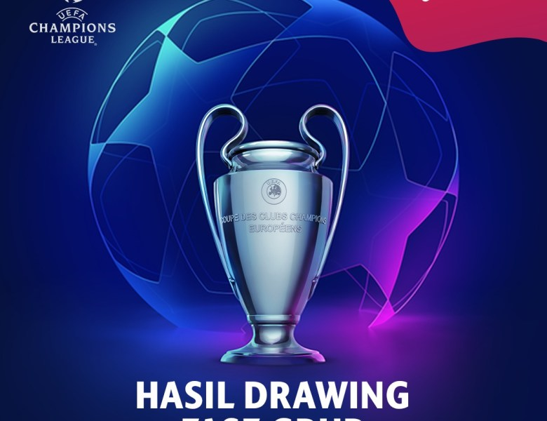 Hasil Drawing Fase Group Liga Champion 19/20